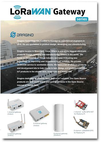 Dragino_Gateways